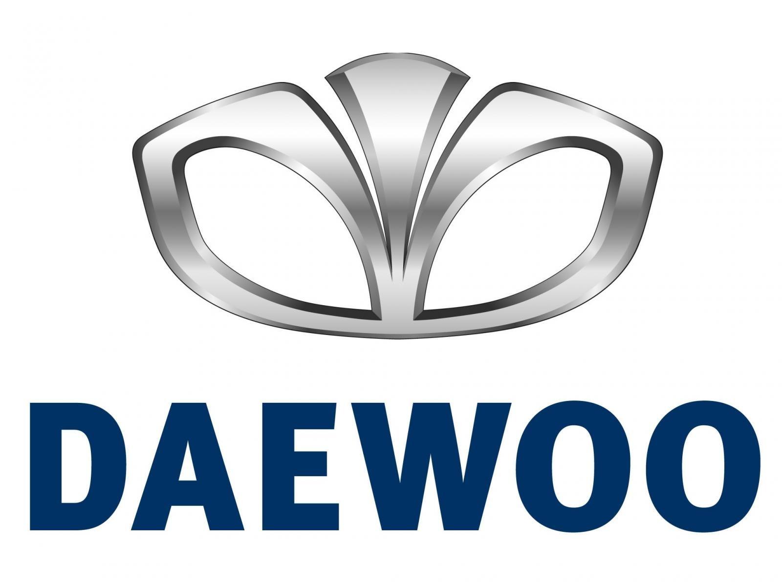 Logo hãng xe Daewoo