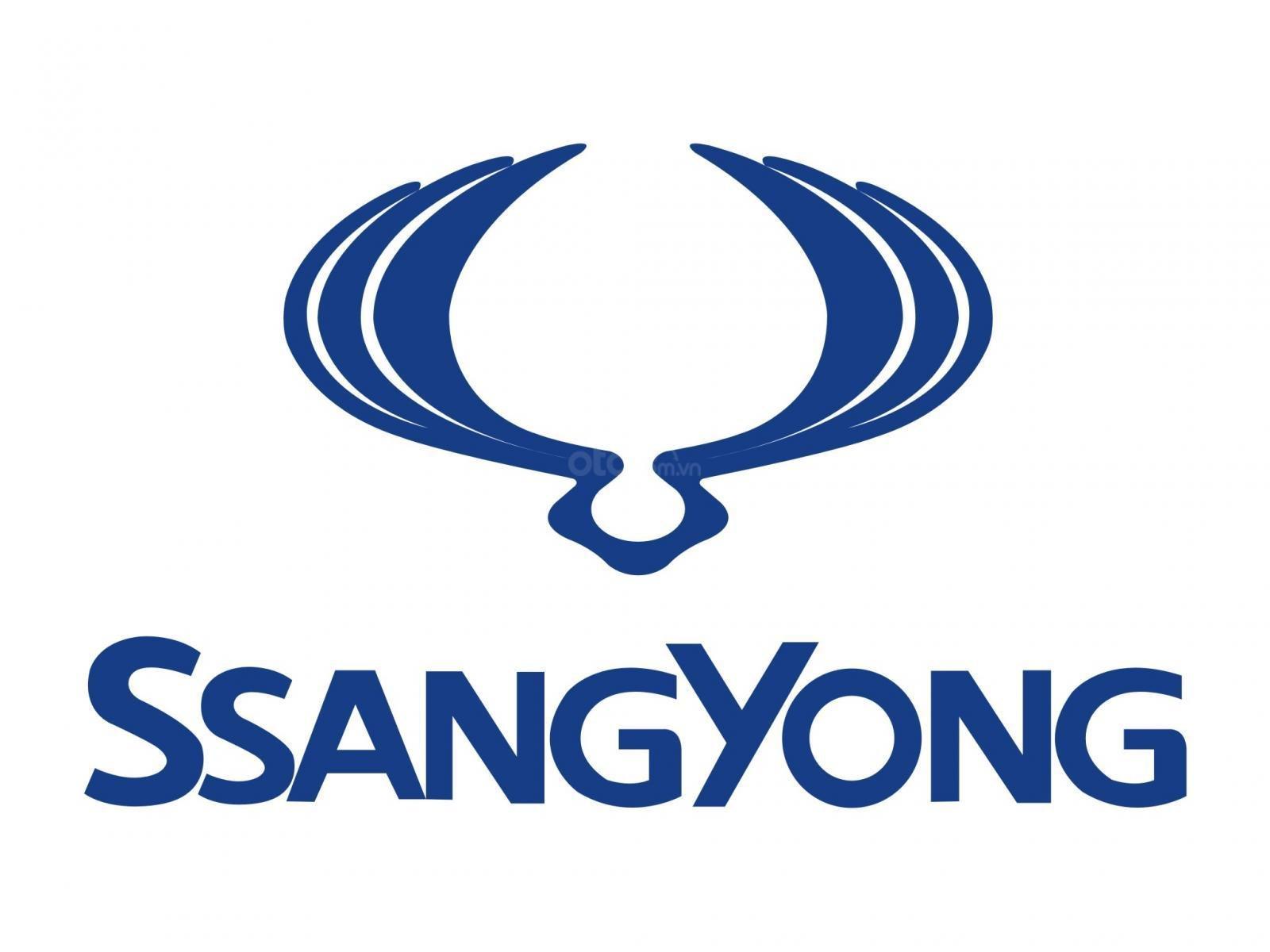 Logo thương hiệu của SsangYong