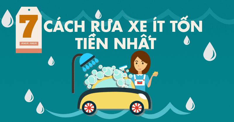 7 cách rửa xe ít tốn tiền nhất 2