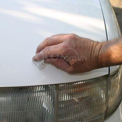 Hướng dẫn sửa xe tróc sơn, ô tô trầy và có rỉ sét tại nhà - Vệ sinh, so sánh thành quả