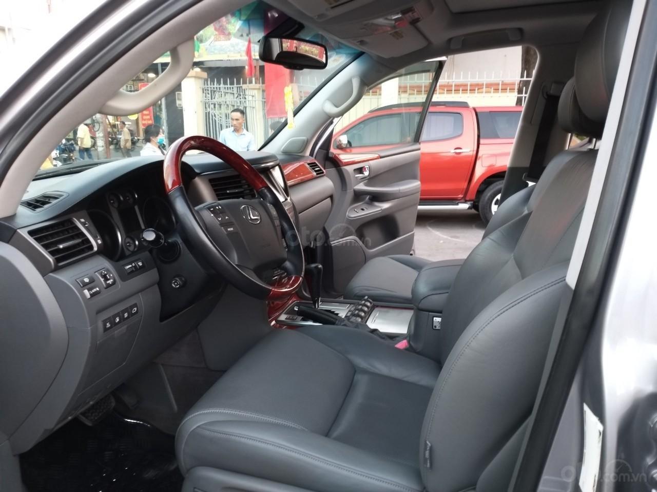 Lexus LX 570 model 2009, màu bạc, nhập khẩu, toàn bộ còn zin theo xe, cực mới, 2 tỷ 320 triệu-3