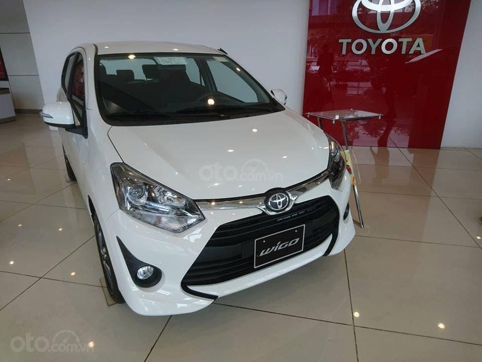 """"""" Siêu hot """" - 0901.77.4586 Toyota Mỹ Đình -Wigo nhập 2019 KM lớn, trả trước 80 triệu, hỗ trợ lãi suất 0.65%-0"""
