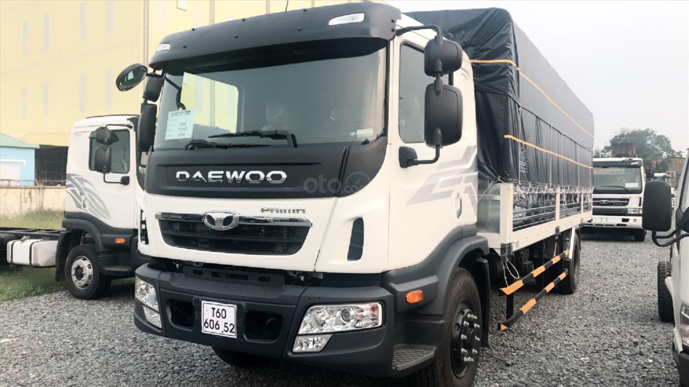 Bán xe tải Daewoo Prima KC6A1 TT 9 tấn 7m4 thùng mui bạt giá tốt, HT trả góp-2