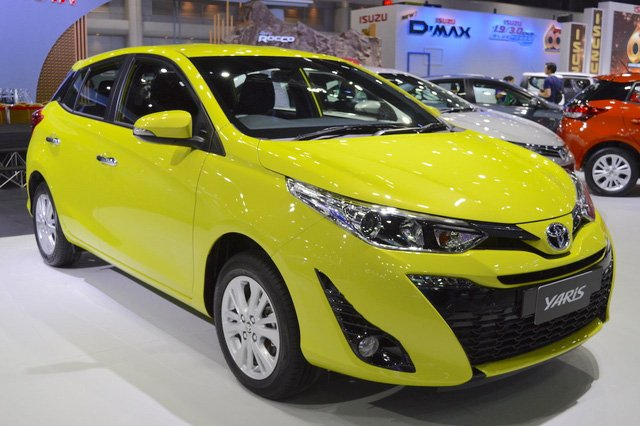Giá phụ tùng chính hãng của Toyota Yaris.