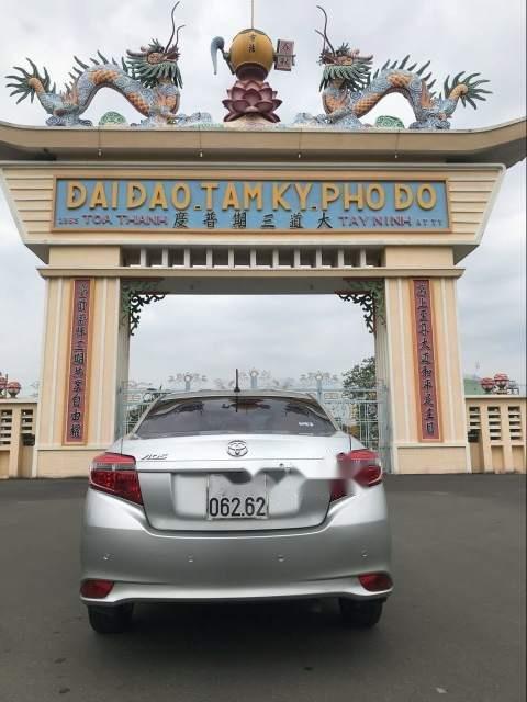 Bán xe Toyota Vios đời 2014, màu bạc, giá 435tr (2)