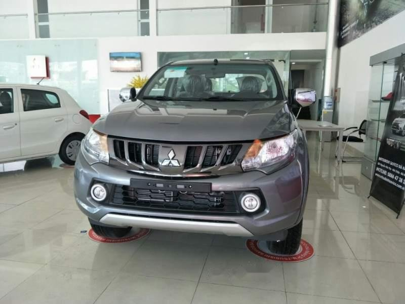 Bán xe Mitsubishi Triton sản xuất năm 2019, màu xám, nhập khẩu nguyên chiếc (3)