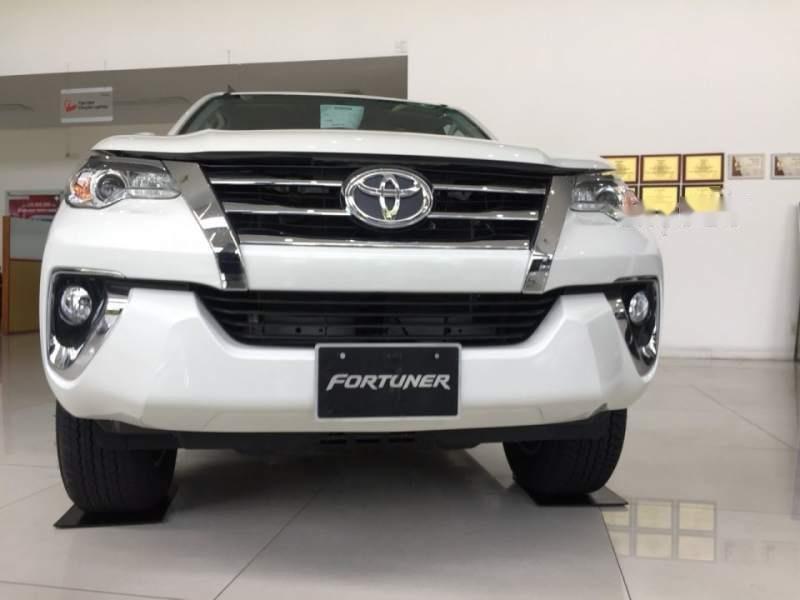 Bán xe Toyota Fortuner đời 2019, màu trắng, xe nhập (6)