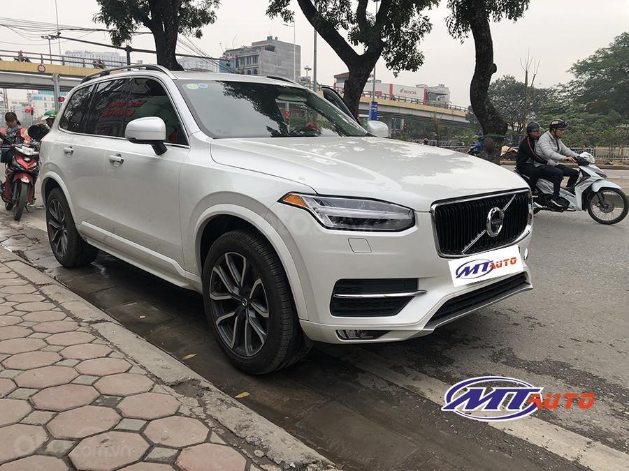 Bán ô tô Volvo XC90 Momentum 2017, màu trắng, xe nhập khẩu - LH em Hương 0945392468-1