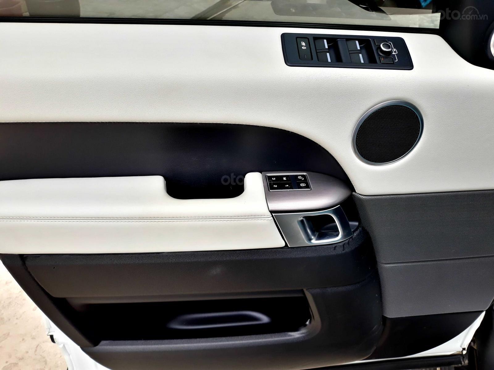 Bán LandRover Range Rover HSE 2016, màu trắng, nhập khẩu-4