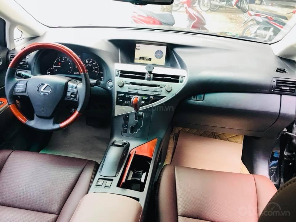 Lexus RX 350 nhập khẩu màu đen 2010-4