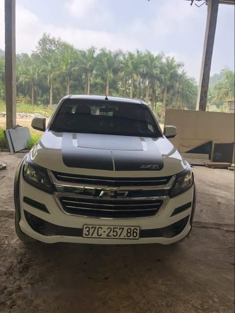 Bán Chevrolet Colorado 2.5 4x4 MT sản xuất 2017, màu trắng, nhập khẩu-5