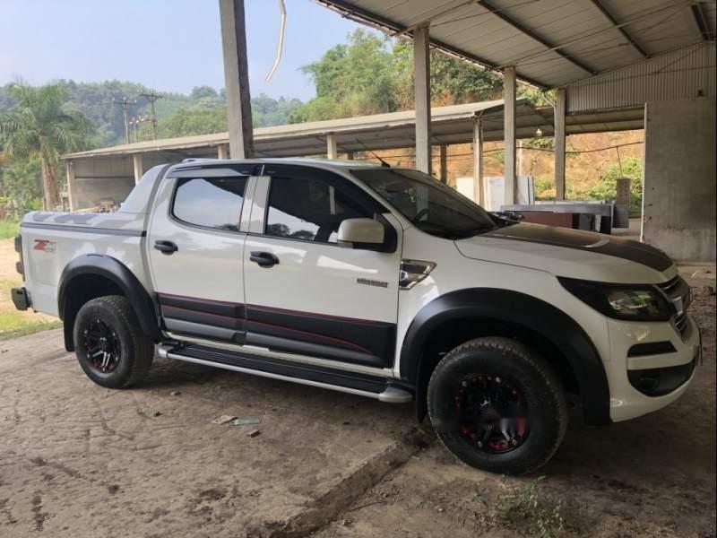 Bán Chevrolet Colorado 2.5 4x4 MT sản xuất 2017, màu trắng, nhập khẩu-4