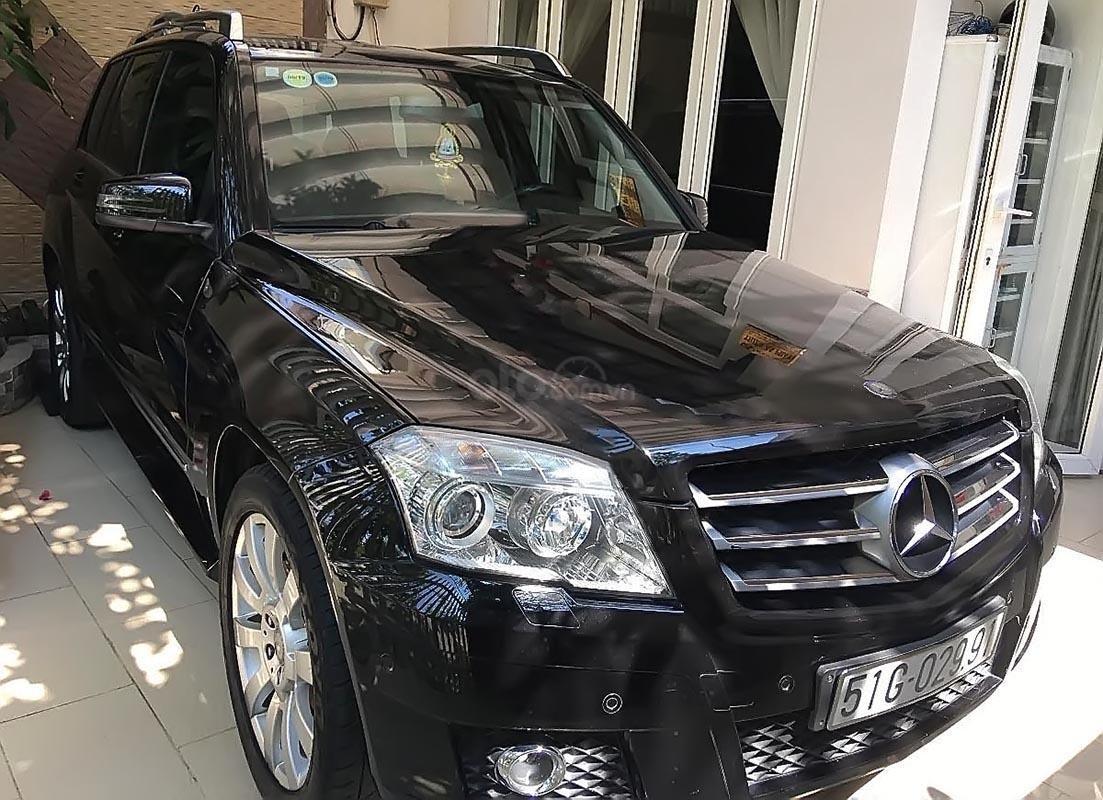 Xe Mercedes GLK 300 sản xuất 2009, màu đen, nhập khẩu   (1)
