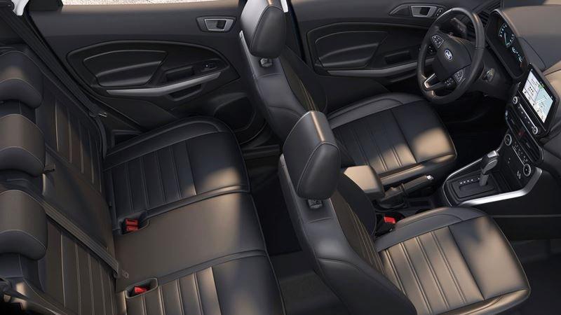 Nội thất tiện nghi trên Ford Ecosport 2018