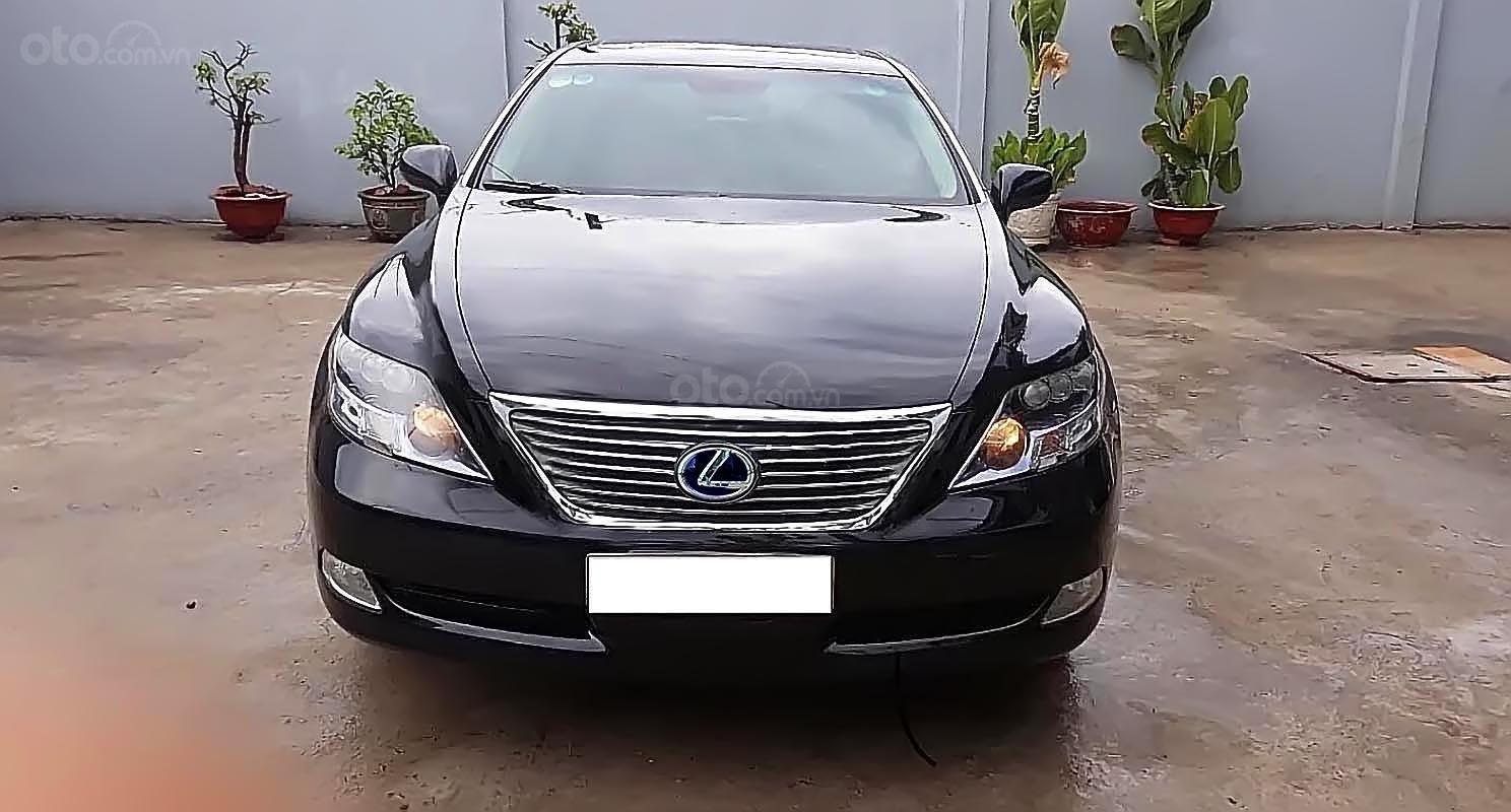 Cần bán Lexus LS 600HL đời 2008, màu đen, nhập khẩu ít sử dụng-0