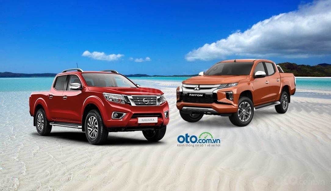 So sánh Mitsubishi Triton 2019 và Nissan Navara 2019...