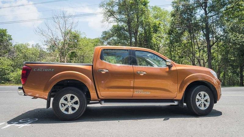 Thiết kế thân xe Nissan Navara 2019...