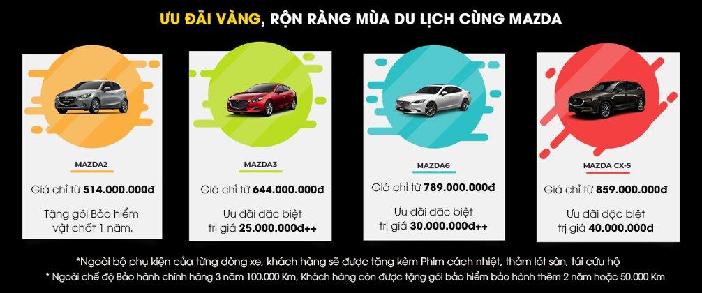 Tháng 4/2019, Thaco giảm giá xe Mazda 3, Mazda 6, CX-5 lên đến 40 triệu đồng a2