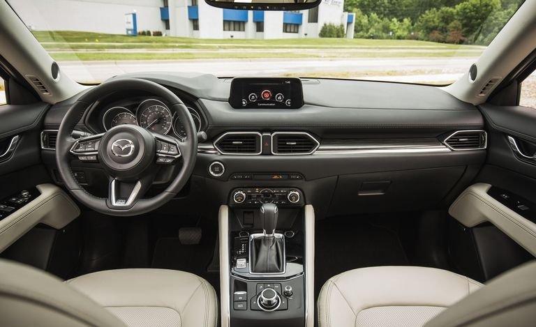 Nội thất Mazda CX 5 đầy đủ tiện nghi