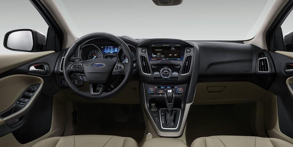 Nội thất Ford Focus 2018 hiện đại và tiện nghi