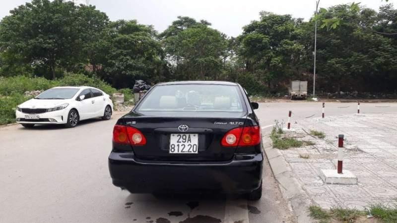 Cần bán gấp Toyota Corolla altis sản xuất năm 2003, màu đen-5