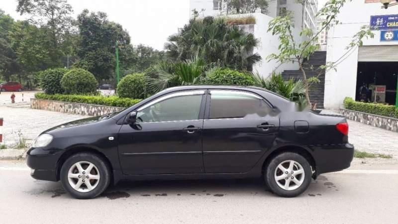 Cần bán gấp Toyota Corolla altis sản xuất năm 2003, màu đen-1