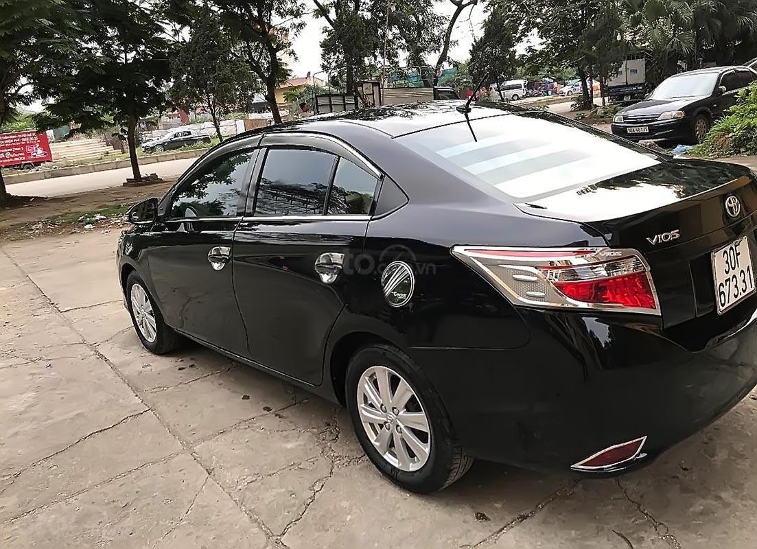 Bán xe Toyota Vios năm 2014, màu đen, giá tốt-1