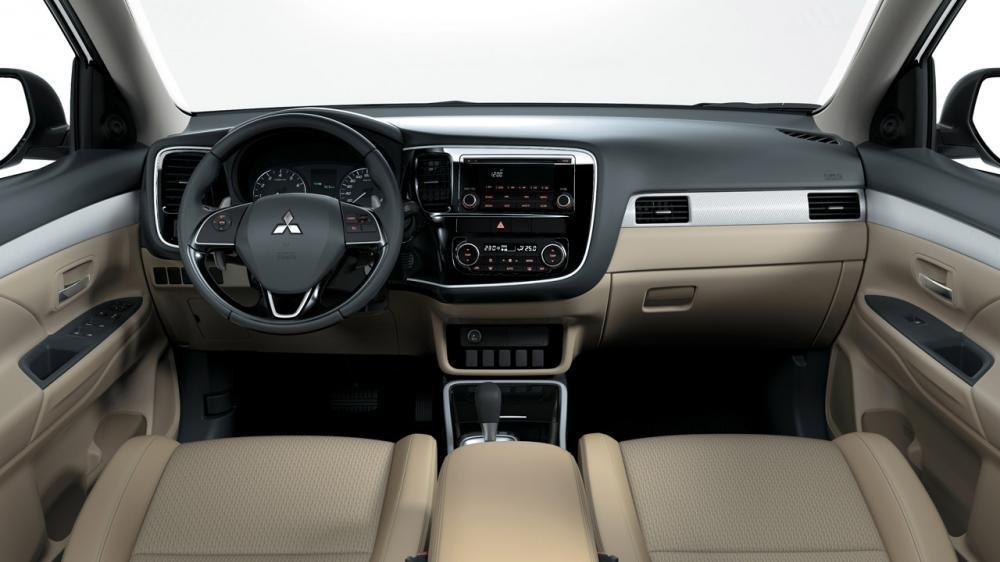 Nội thất hiện đại của Mitsubishi Outlander 2018