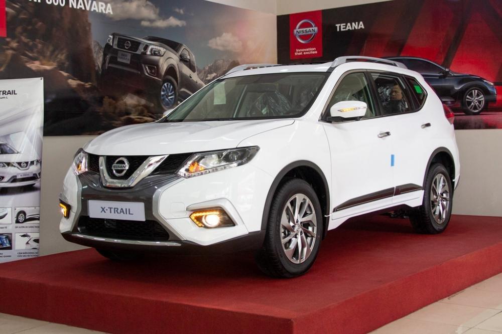 Ngoại thất Nissan X trail 2018 được đánh giá là khá bắt mắt