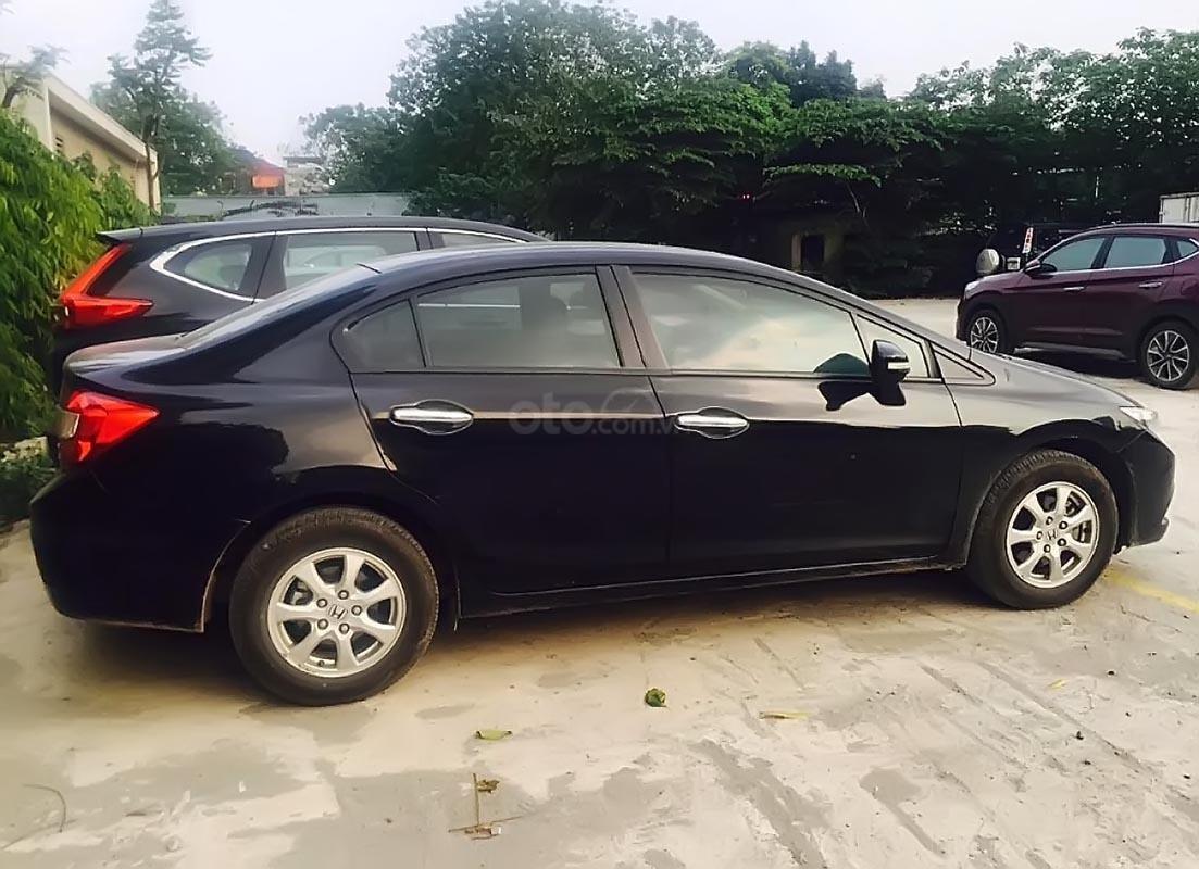 Cần bán lại xe Honda Civic đời 2012, màu đen như mới -1