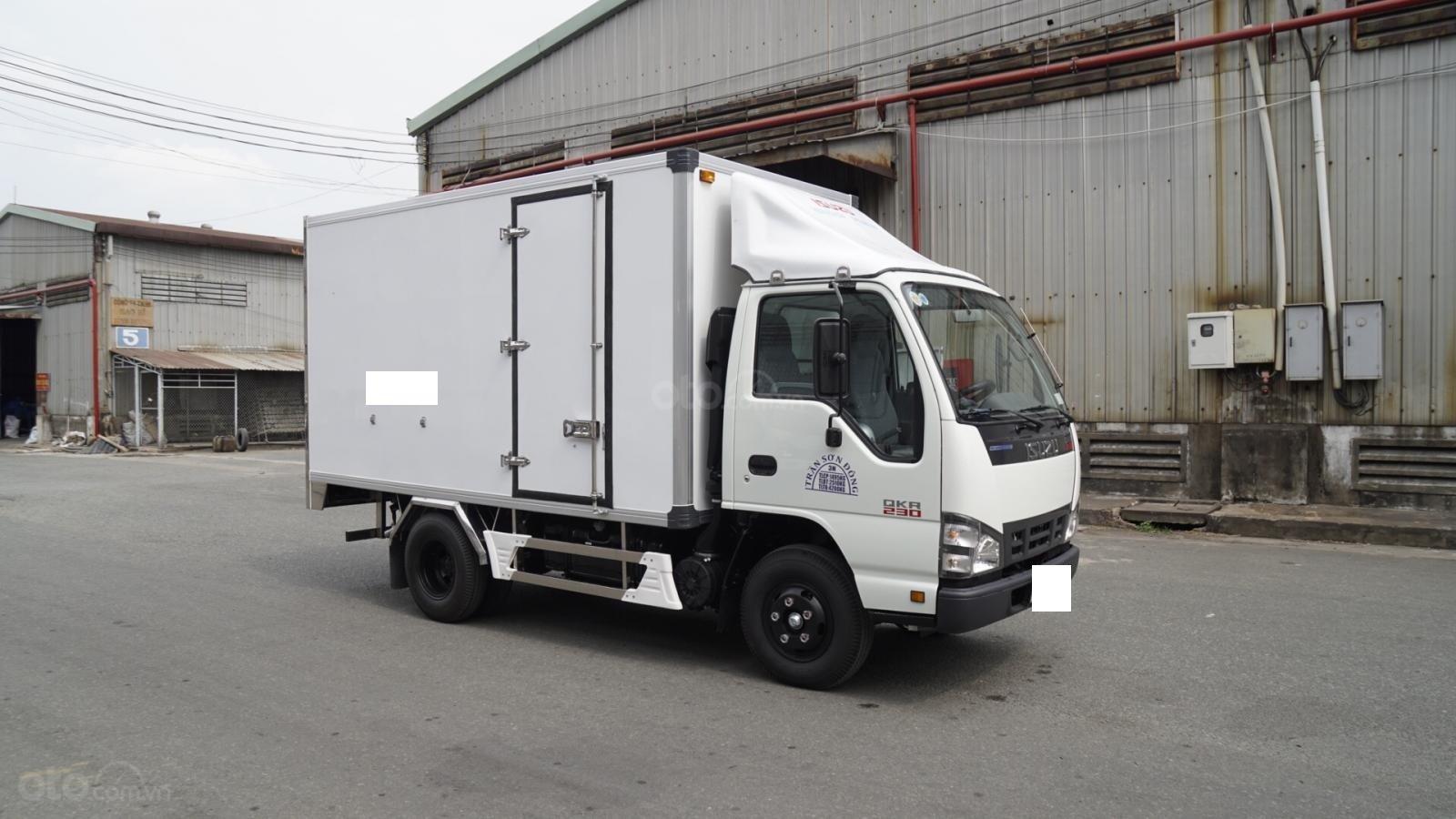 Bán Isuzu thùng bảo ôn 3m6 tải trọng 1T4 giá tốt, hỗ rợ trả góp-0
