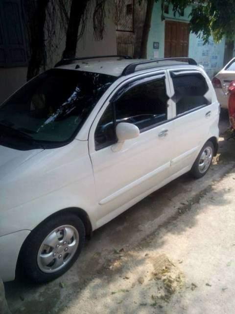 Bán ô tô Daewoo Matiz sản xuất 2007, màu trắng, xe còn đẹp, không bị tai nạn, ngập nước-1