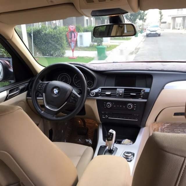 Bán BMW X3 2.8i 2013, màu đỏ, xe nhập-1