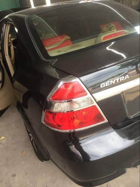 Cần bán Daewoo Gentra đời 2007, màu đen, bao êm, không cấn đụng (6)