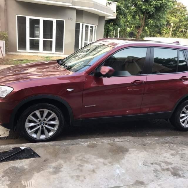 Bán BMW X3 2.8i 2013, màu đỏ, xe nhập-0