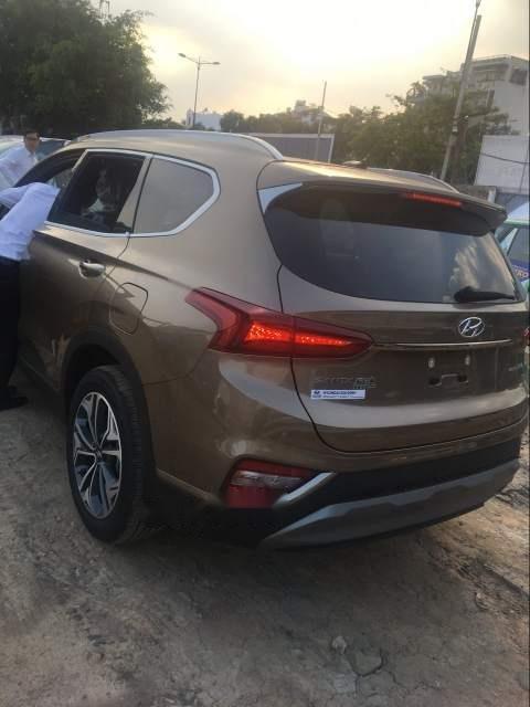 Bán xe Hyundai Santa Fe Premium đời 2019, màu nâu-2