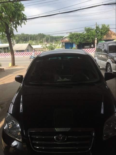 Cần bán Daewoo Gentra đời 2007, màu đen, bao êm, không cấn đụng (1)