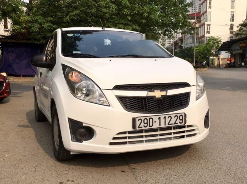Bán xe Chevrolet Spark đời 2012, màu trắng, nhập khẩu nguyên chiếc, đăng ký 2017 (1)