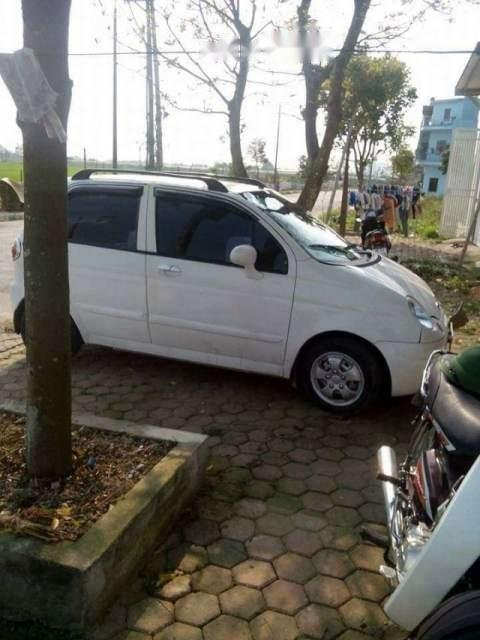 Bán ô tô Daewoo Matiz sản xuất 2007, màu trắng, xe còn đẹp, không bị tai nạn, ngập nước-0