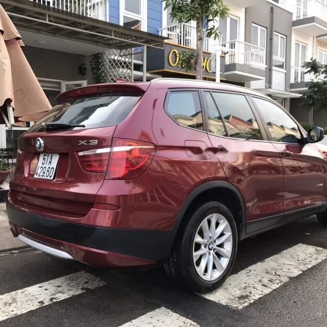 Bán BMW X3 2.8i 2013, màu đỏ, xe nhập-5