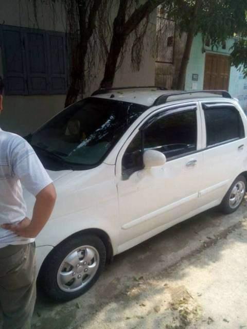 Bán ô tô Daewoo Matiz sản xuất 2007, màu trắng, xe còn đẹp, không bị tai nạn, ngập nước-2