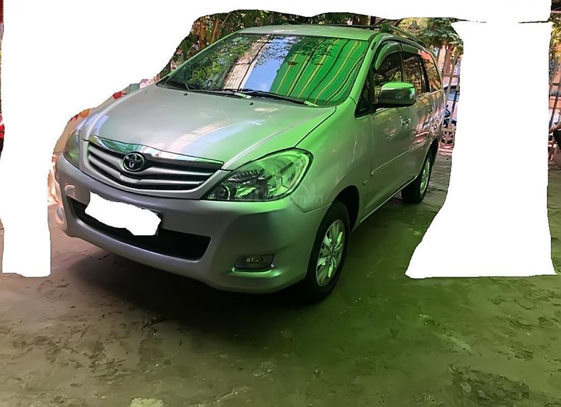 Bán Toyota Innova G sản xuất năm 2008, màu bạc số sàn  (2)