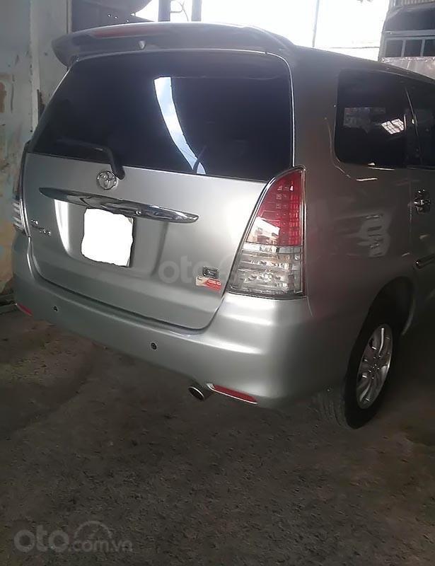 Bán Toyota Innova G sản xuất năm 2008, màu bạc số sàn  (1)
