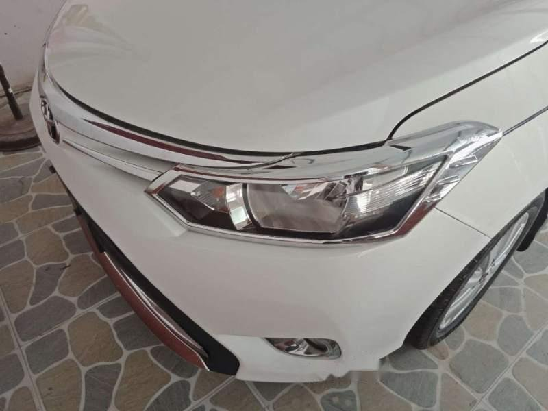 Bán Toyota Vios sản xuất 2017, màu trắng-0