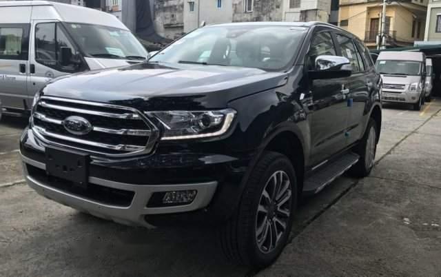 Bán xe Ford Everest 2019, màu đen, nhập khẩu nguyên chiếc -1