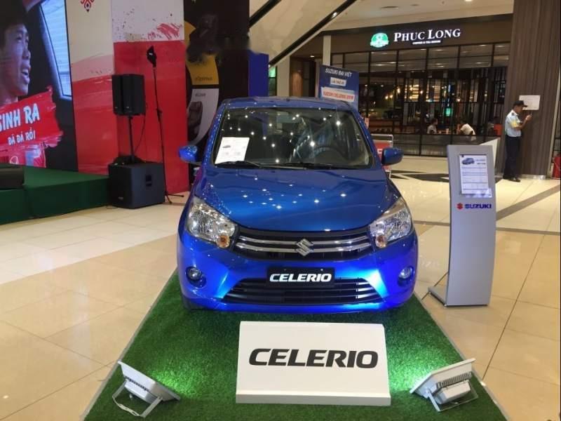 Bán Suzuki Celerio năm 2019, màu xanh lam, nhập khẩu -2