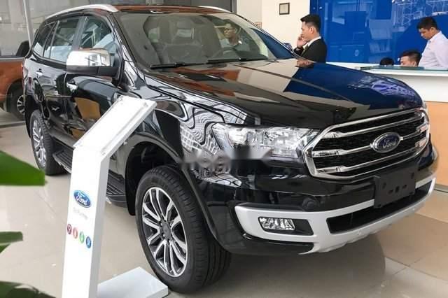 Bán xe Ford Everest 2019, màu đen, nhập khẩu nguyên chiếc -0