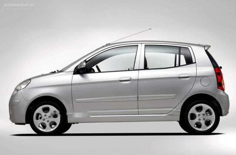 Bán gấp Kia Picanto sản xuất 2008, màu bạc, nhập khẩu nguyên chiếc ít sử dụng-0