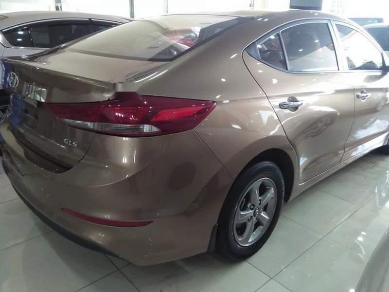 Cần bán Hyundai Elantra GLS sản xuất năm 2016, màu vàng số sàn-2