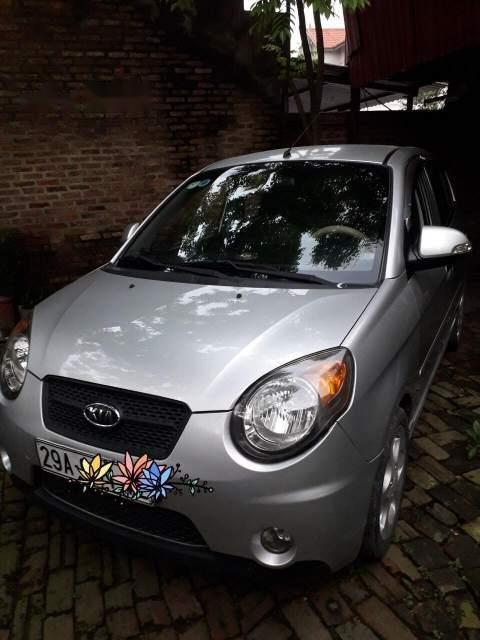 Cần bán xe Kia Morning đời 2008, màu bạc, xe nhập-2